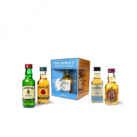 Miniatura Set The World´s Favourite Whiskies