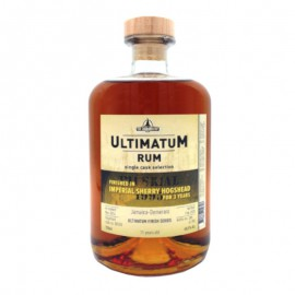 Ron Ultimatum Imperial Whisky Sherry Cask Finish 11 años