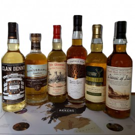 Cata de Whiskies Escoceses Independientes 1573 ONLINE