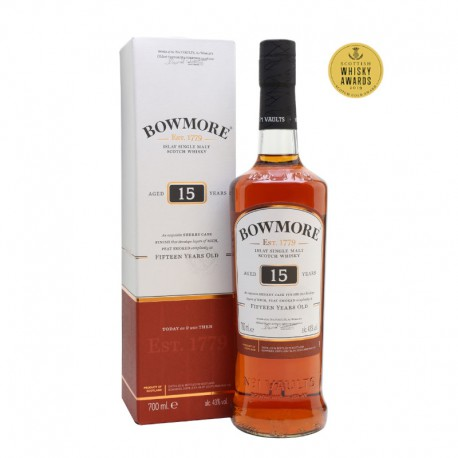 Bowmore 15 años Sherry Cask Finish