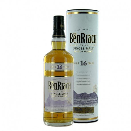 The BenRiach 16 años