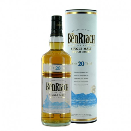 The BenRiach 20 años