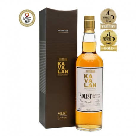 Kavalan Solist ex-Bourbon Cask Strength