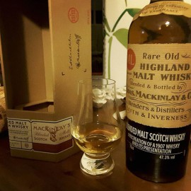 Mackinlay's Rare Old Highland Malt Shackleton The Journey Edition