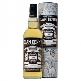 Cameronbridge 1991 Single Grain Clan Denny 25 años