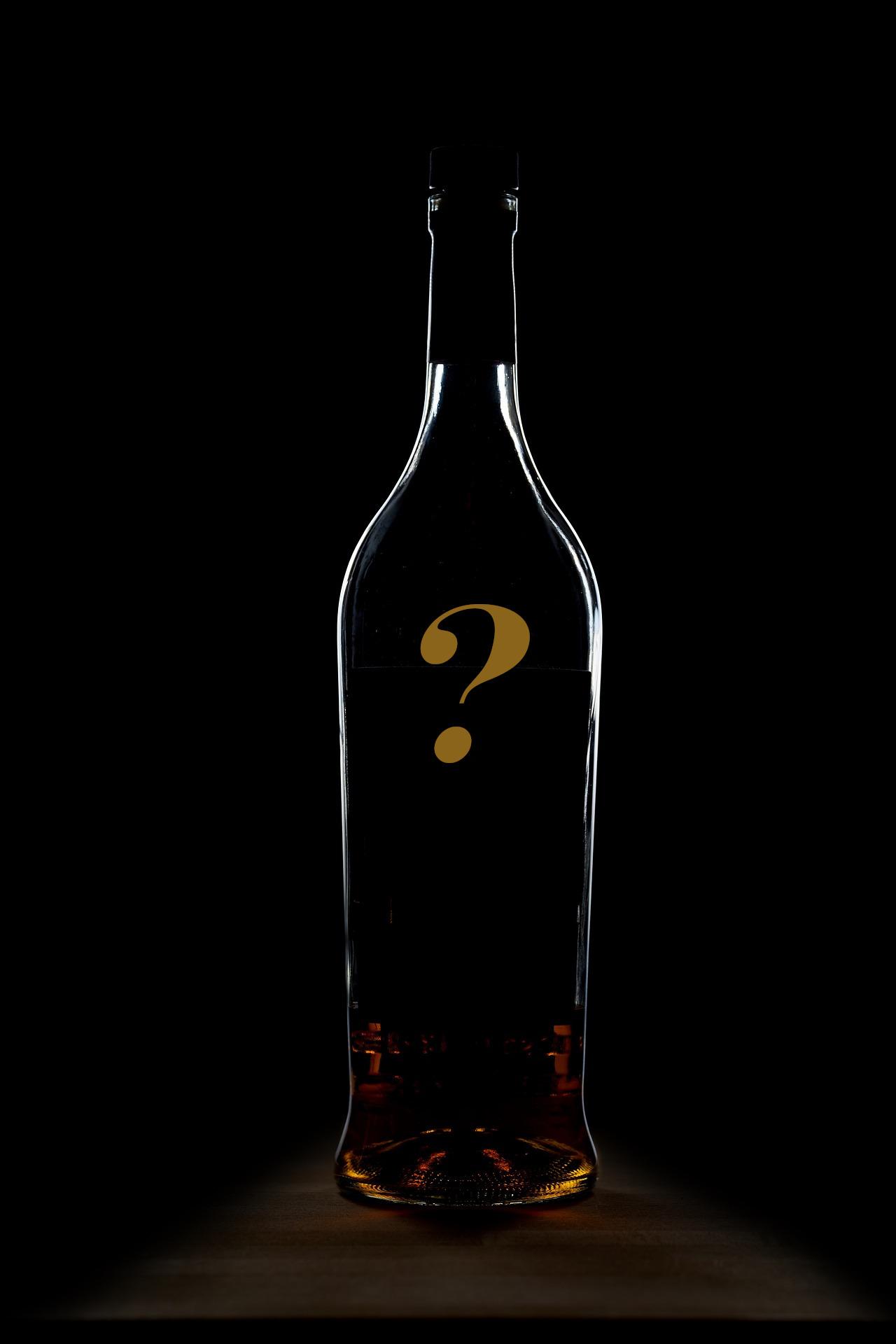 Botella Sorpresa en Cata de Whisky